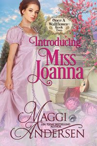 Introducing Miss Joanna (Once a Wallflower Book 2)
